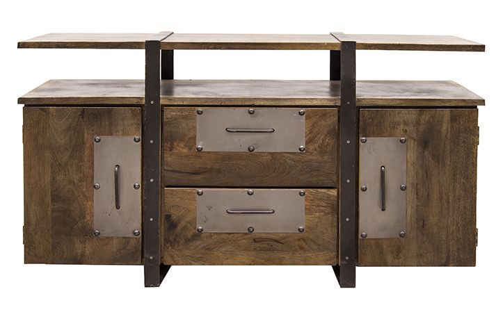 Watson muebles de estilo industrial mobiliario for Muebles industriales online