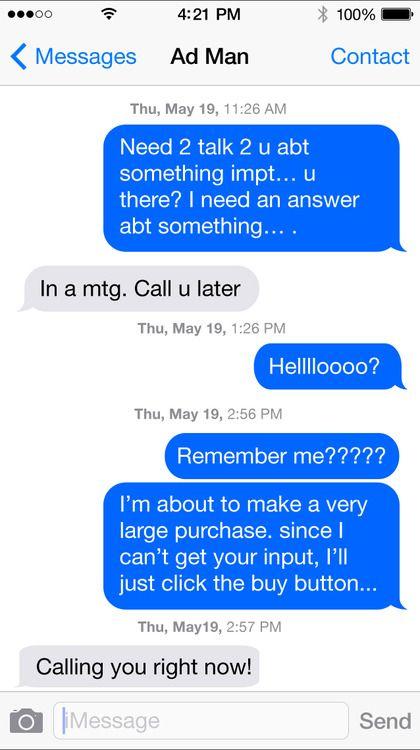 Sexy ways to text
