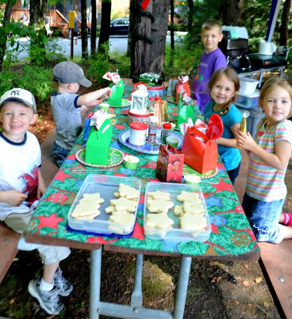 Christmas In July Camping Ideas.My Party Passion Christmas In July Camping Party By