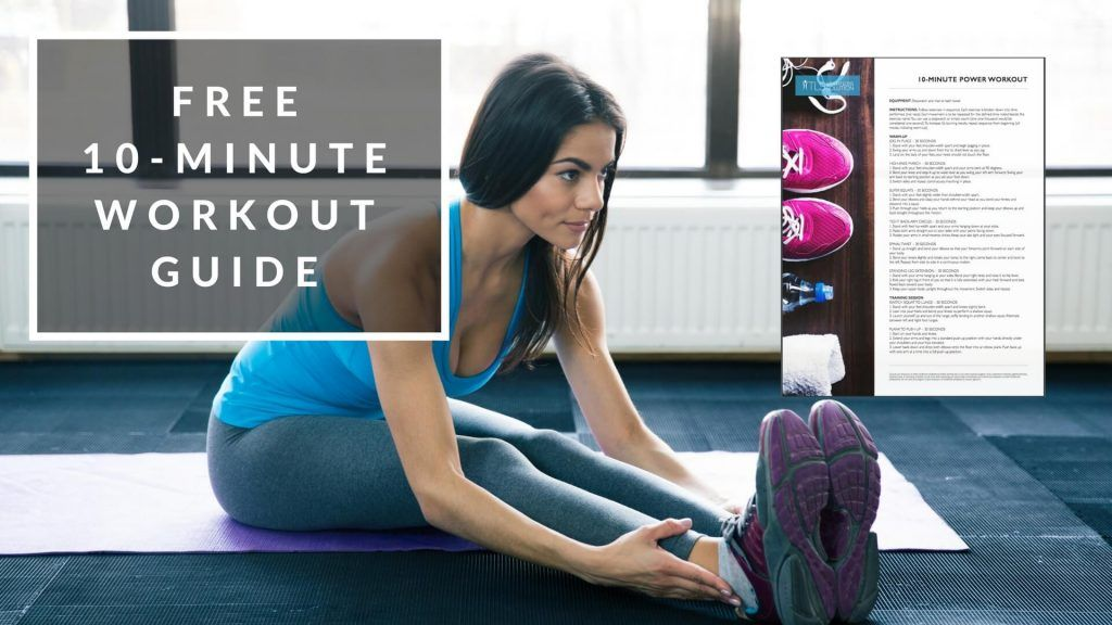 Download your 10-minute easy fat-burning workout     Why this workout is for you      No Gym, no weights, no heavy lifting  Quick warm-up to prevent injury  10 short simple exercises so you don't get bored  Only need a mat and a towel  Step-by-Step Guide  Easy print PDF to
