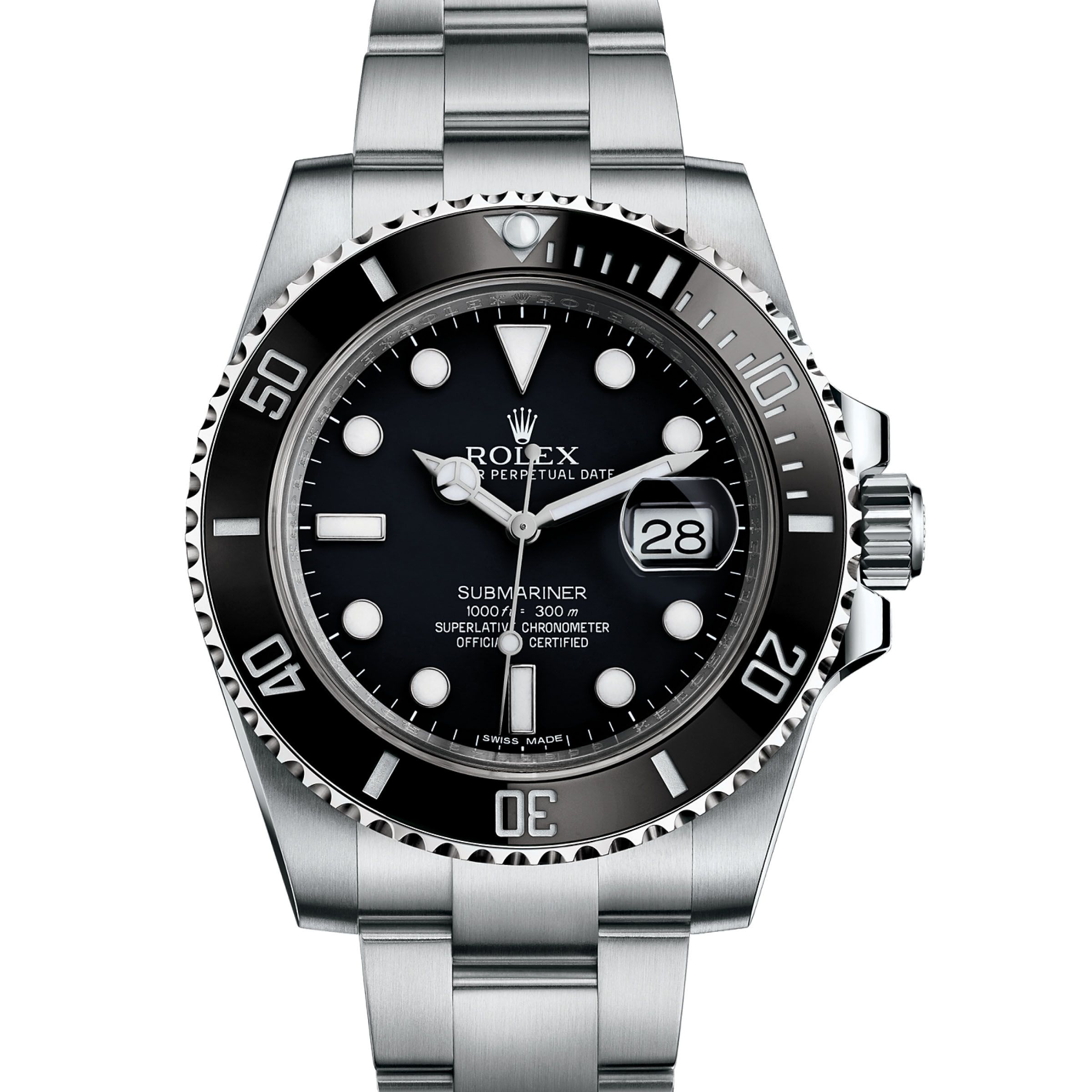 #Rolex Submariner Stainless Steel #Watch