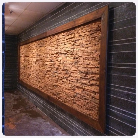 Inca Valley Inner Bark Textured Cork Wall Tiles Natural Cork Wall Covering That Is Made From Bark Cork Wall Tiles Cork Wall Interior Wood Paneling