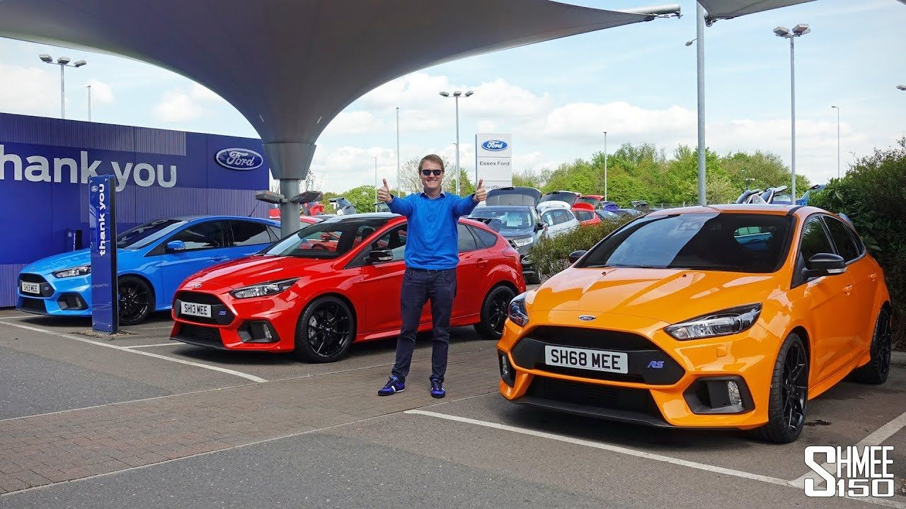 Double Collection Day My New Focus Rs Heritage And Red Editions