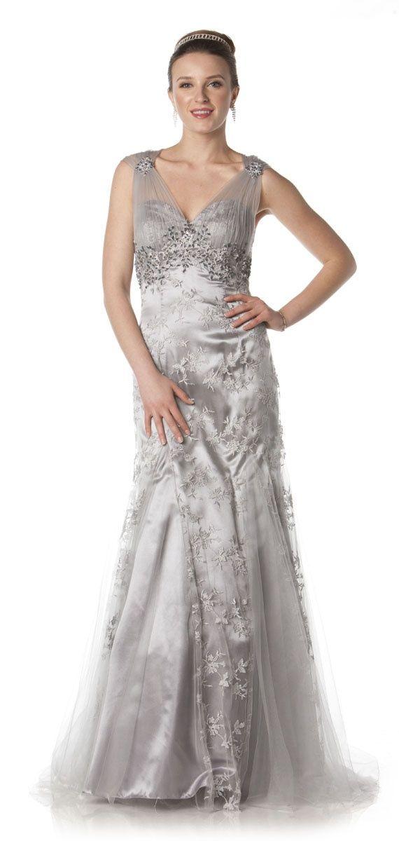 plus size bridesmaid dresses silver | wedding dress | pinterest