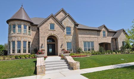 Toll Brothers The Vallagio Manor With Port Cochere