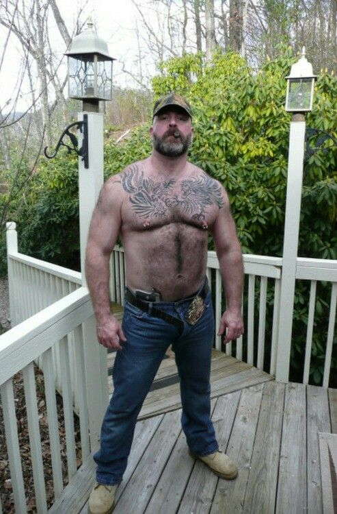 Bear fetish and hairy