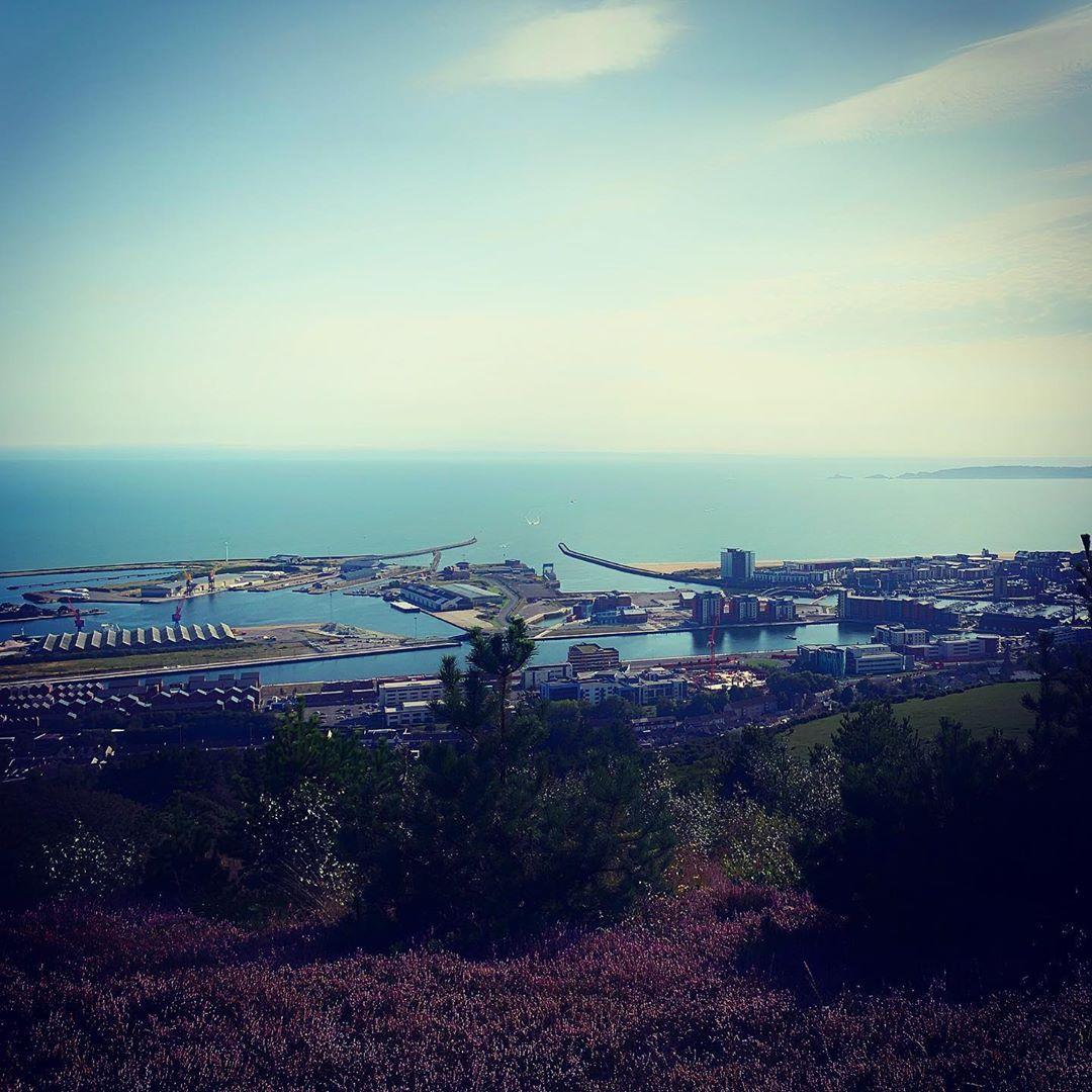 Swansea Bay from Kilvey! #swansea #wales #cardiff #fitness #abertawe #gower #cymru #newport #swansea...