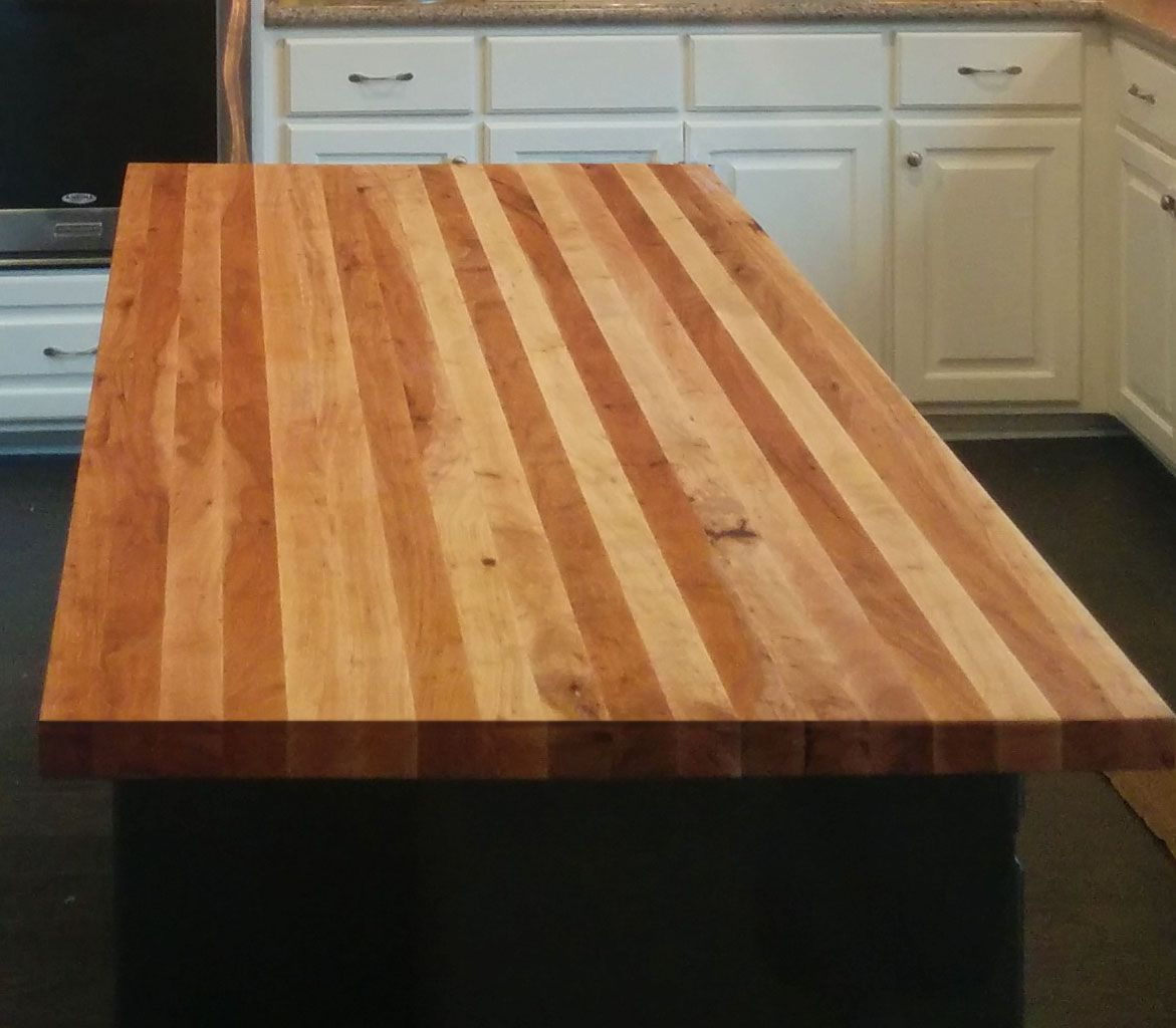 Custom Built Wood Island Bar Tops Counters In Any Wood Species. Handcrafted Bar  Tops With Epoxy Coating, Waterproof Bar Tops, Wood Counters, Butcher Block  ...