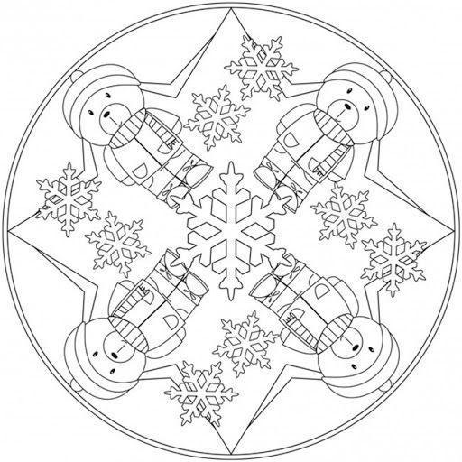 Anasınıfı Kış Mevsimi Boyama Sayfası 3 Mevsimler Pinterest
