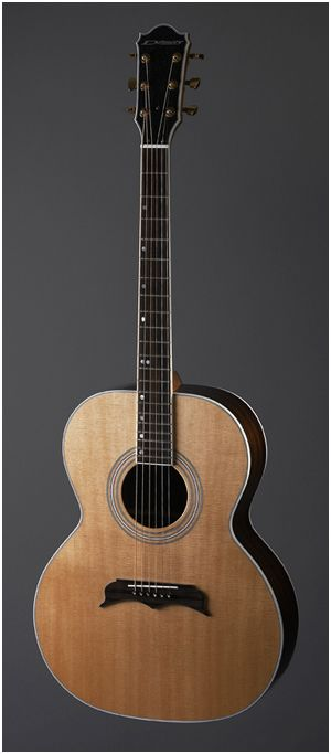 L13 Acoustic Guitar Om Style From Demers Guitars Slides Guitarras Les Luthiers Musica