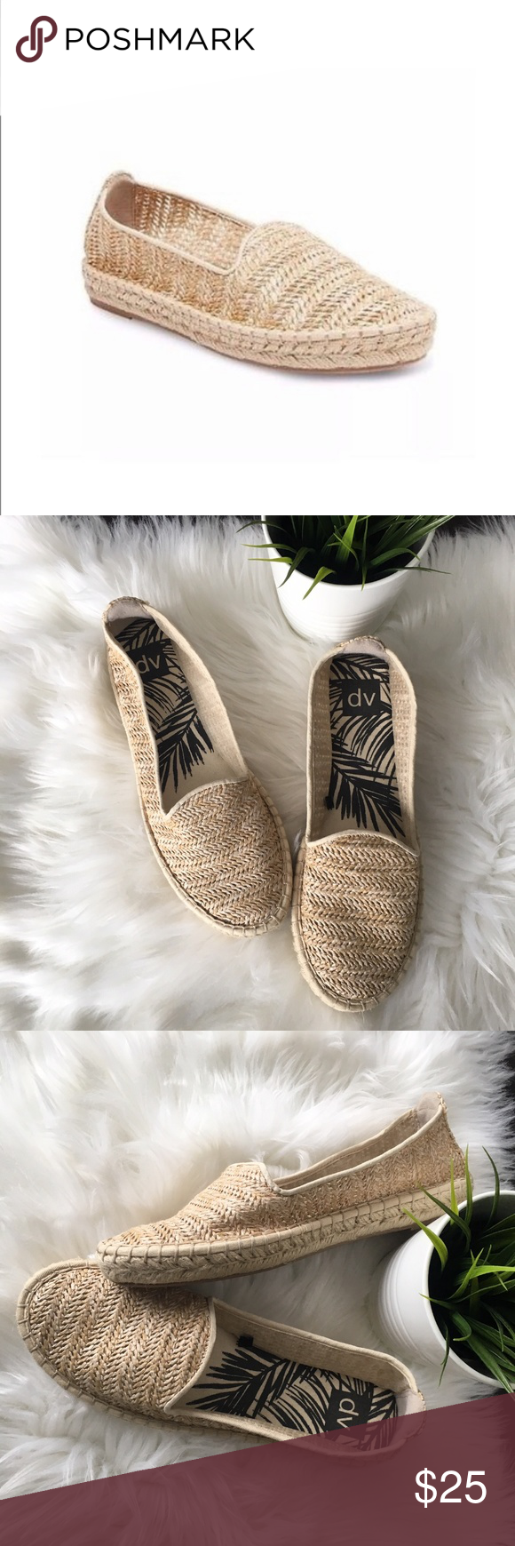 d3998673807b DV by Dolce Vita Espadrilles Flats Women s 10 NEW Brand new without tags  and from a smoke-free environment DV by Dolce Vita espadrille slip-ons  Natural ...