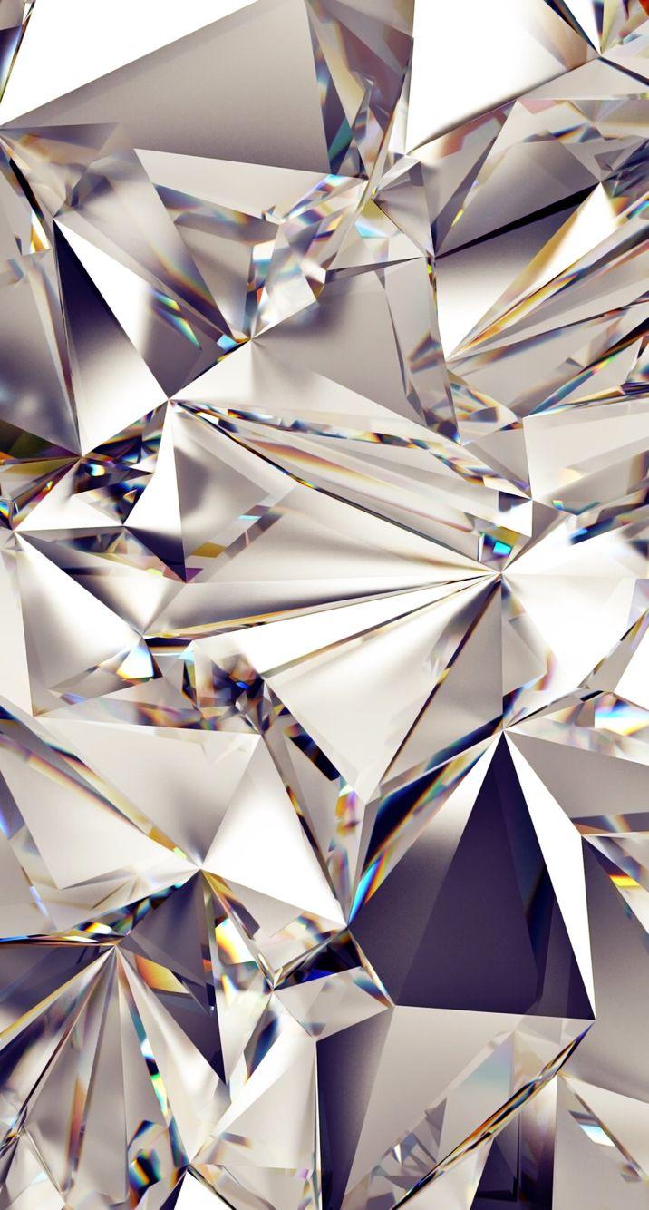 Mirror Reflection Diamonds Iphone Wallpaper Glitter Glitter Wallpaper Iphone Background Wallpaper