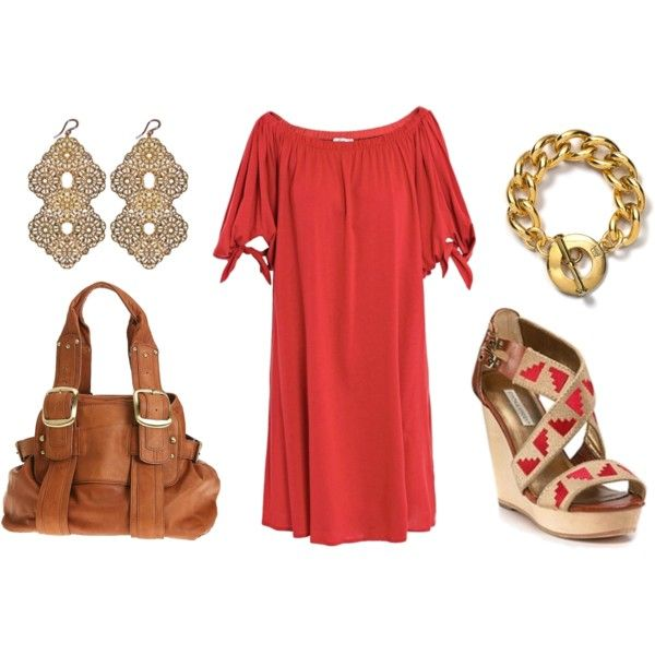 red- brown- gold-
