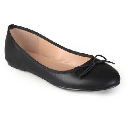 7f24c7bdf7029 Brinley Co. Women's Classic Bow Round Toe Casual Ballet Flats in ...