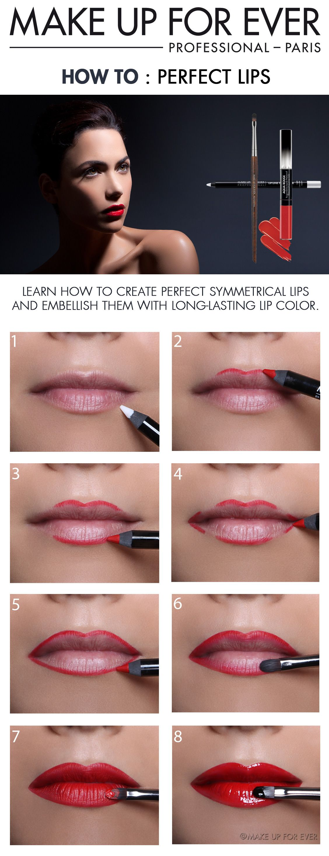 Perfect lips makeup pinterest perfect lips lips and makeup gradient lip tutorial the new gradient lipstick trend marie claire in asia you must remember that the dolly look is popular so little lips and big baditri Image collections