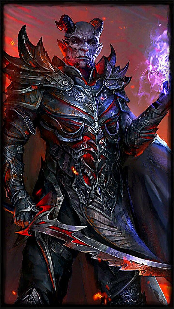 Daedric Dremora Lord Elder Scrolls Elder Scrolls Skyrim Skyrim
