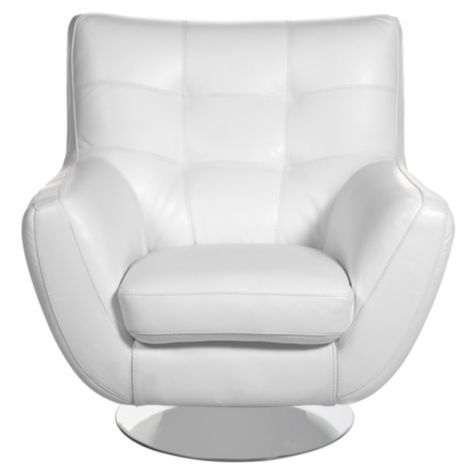 Bruno Accent Chair White from Z Gallerie Accent chairs