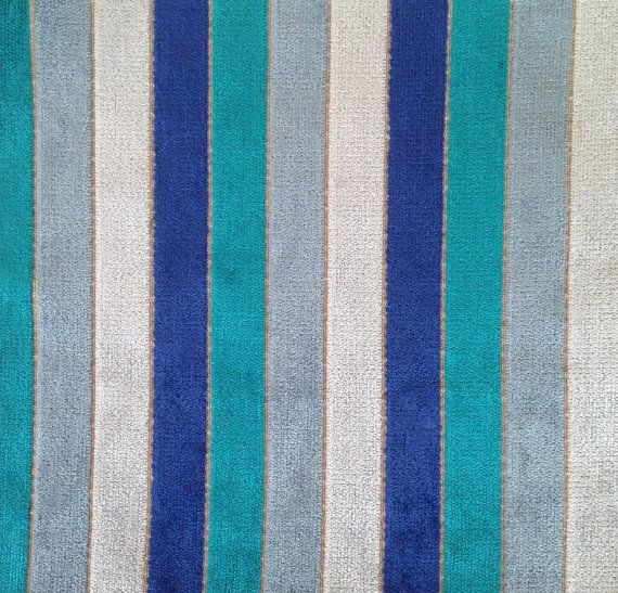 Turquoise Chenille Upholstery Fabric Navy Blue And Grey Striped Textured Material For Furniture Light Grey Chenille Headb Upholstery Fabric Fabric Chenille