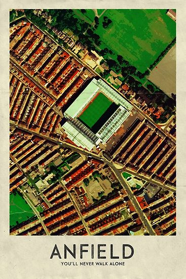 Anfield - Home of Liverpool FC
