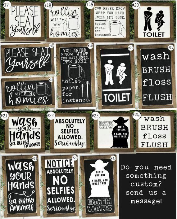 23+ Signs for bathroom ideas in 2021