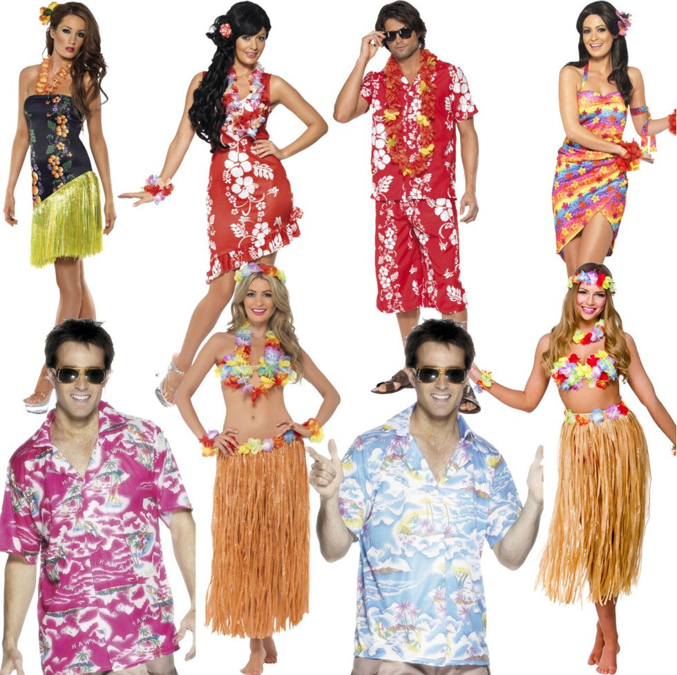 Birthday Dress Code Ideas: Luau Party Dress Code