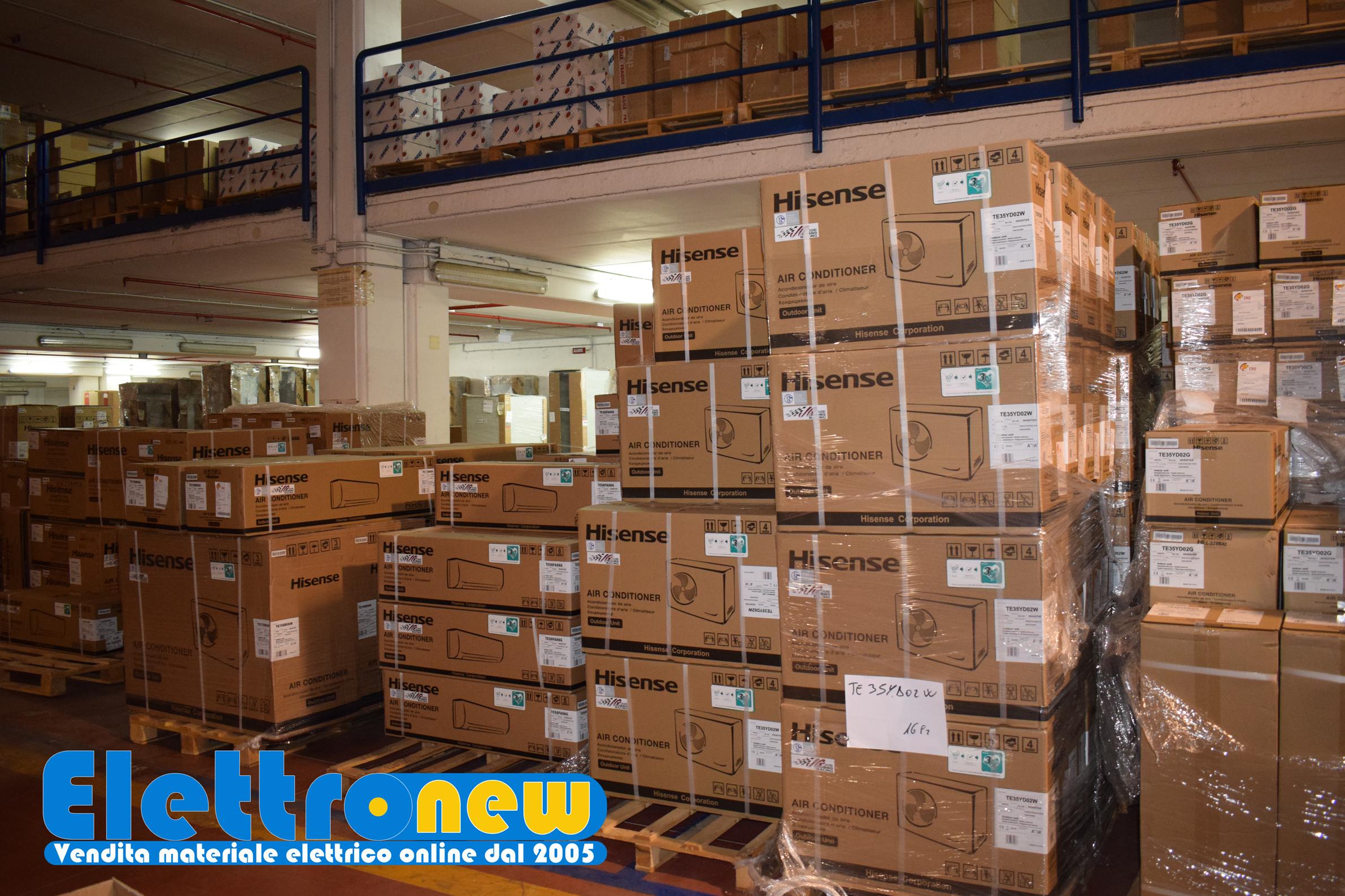 Nuovi arrivi al nostro magazzino Climatizzatori Hisense Daikin Samsung Aermec disponibili ora sul nostro sito a prezzi STRACCIATISSIMI
