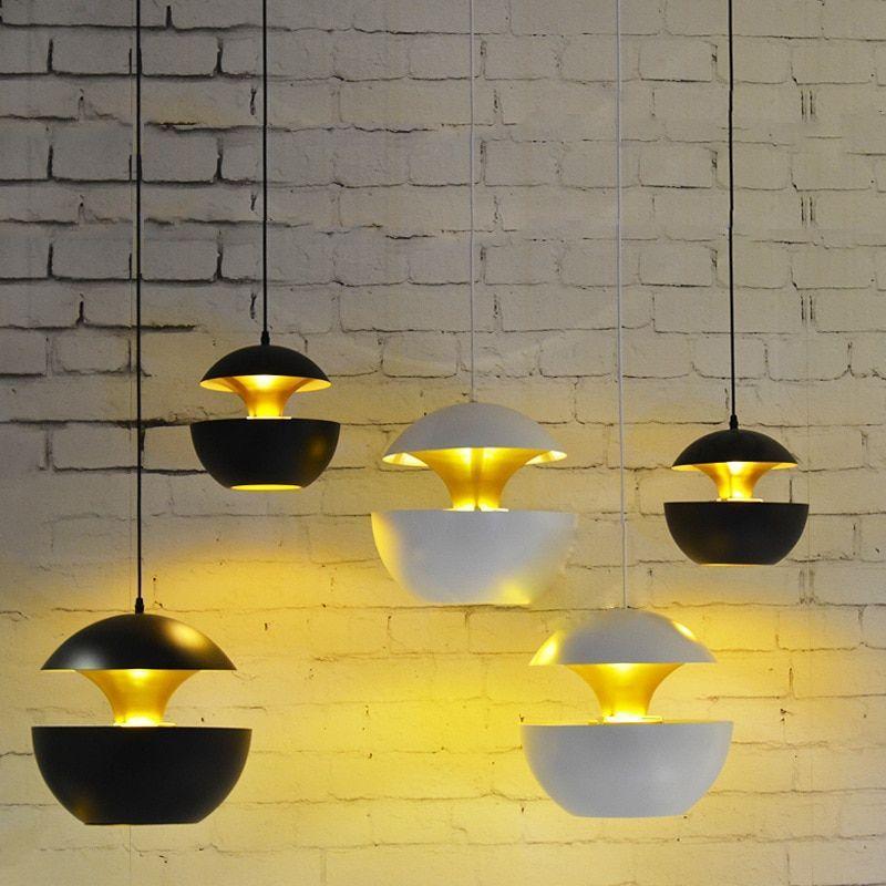 Nordic Simple Led Pendant Light Dining Room Restaurant Bar Kitchen