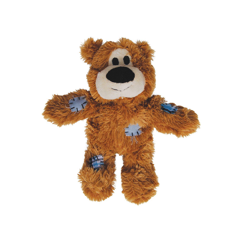 Kong Wild Knots Bear Dog Tug Toy X Small Bear Dog Soft Toy Dog