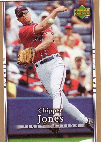 2007 Upper Deck First Edition 177 Chipper Jones (Baseball Cards) . $0.01