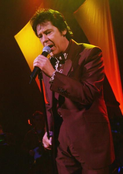 Welsh rockabilly singer Shakin' Stevens performs a oneoff