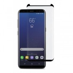 Moshi's IonGlass for Samsung Galaxy S8 is an atomically-strengthened glass screen protector that exhibits exceptional hardness exceeding that of steel.