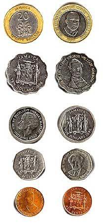 Jamaica Money 20 Jamaican 22 Us 10 11 5 05 1