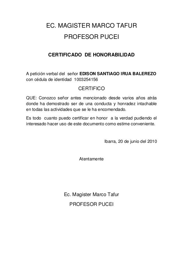 Certificado de honorabilidad yahoo image search results certificado de honorabilidad yahoo image search results urtaz Images