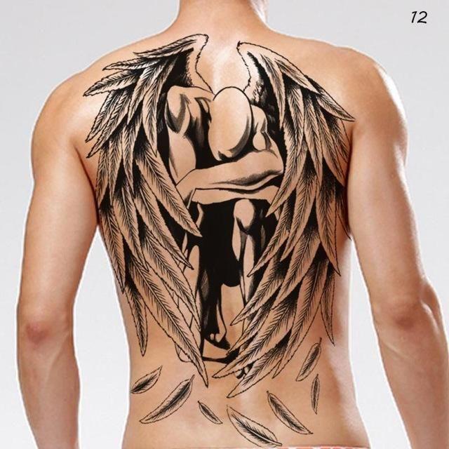 Large Back Tattoo Tatuagem Tatuagem Masculina Braco Tatuagem Braco