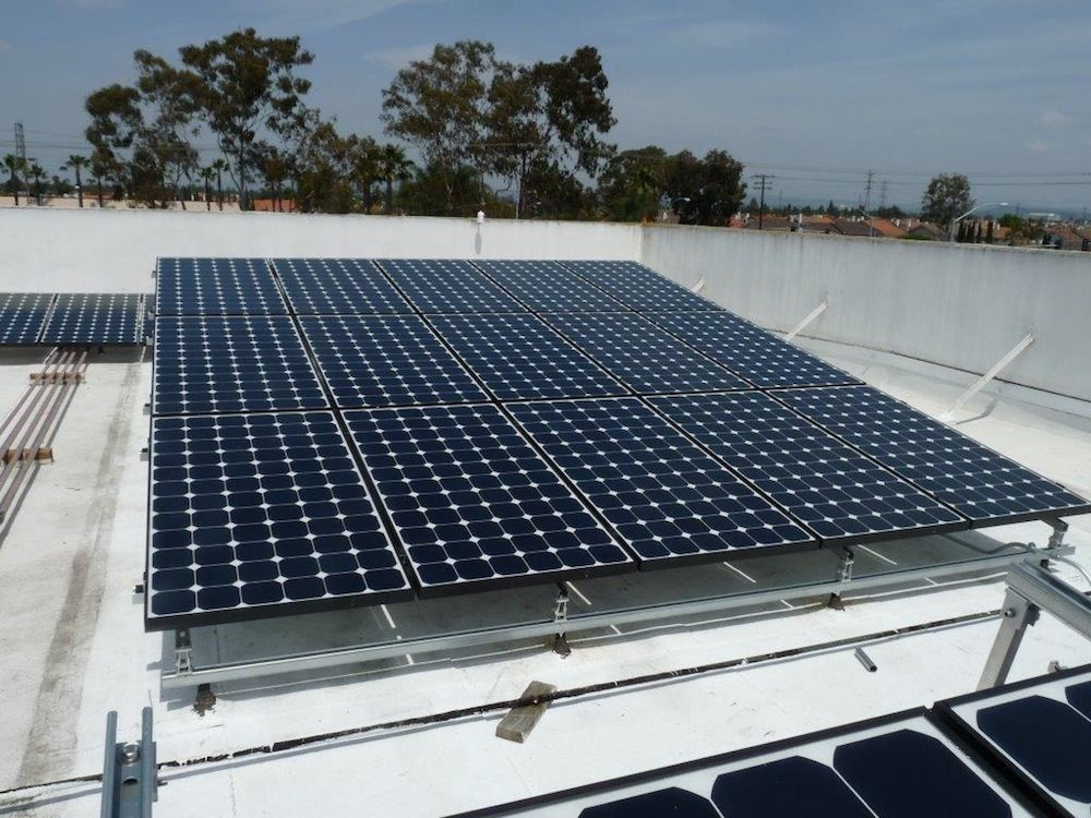 Commercial Solar Ameco Solar Inc Solar Solar Companies Solar Panels