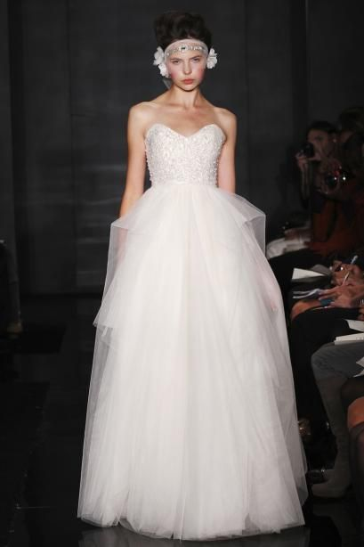 Eternity, Reem Acra Gown | The White Dress