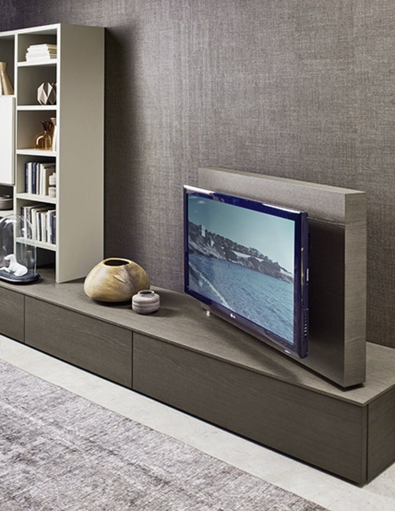 The kronos s features a swivel tv stand allowing you to view your