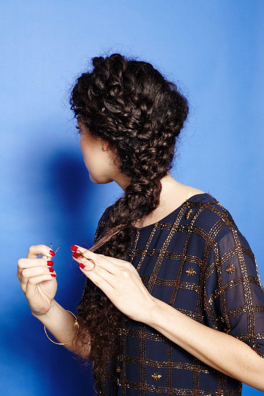 How To Braid Curly Hair - Cute, Plait Styles | hair&makeup ...