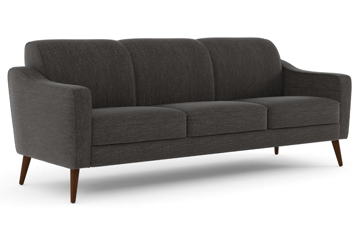 Sofa 3 Lugares De Tecido Zola F U T U R E H O M E Sofa Couch