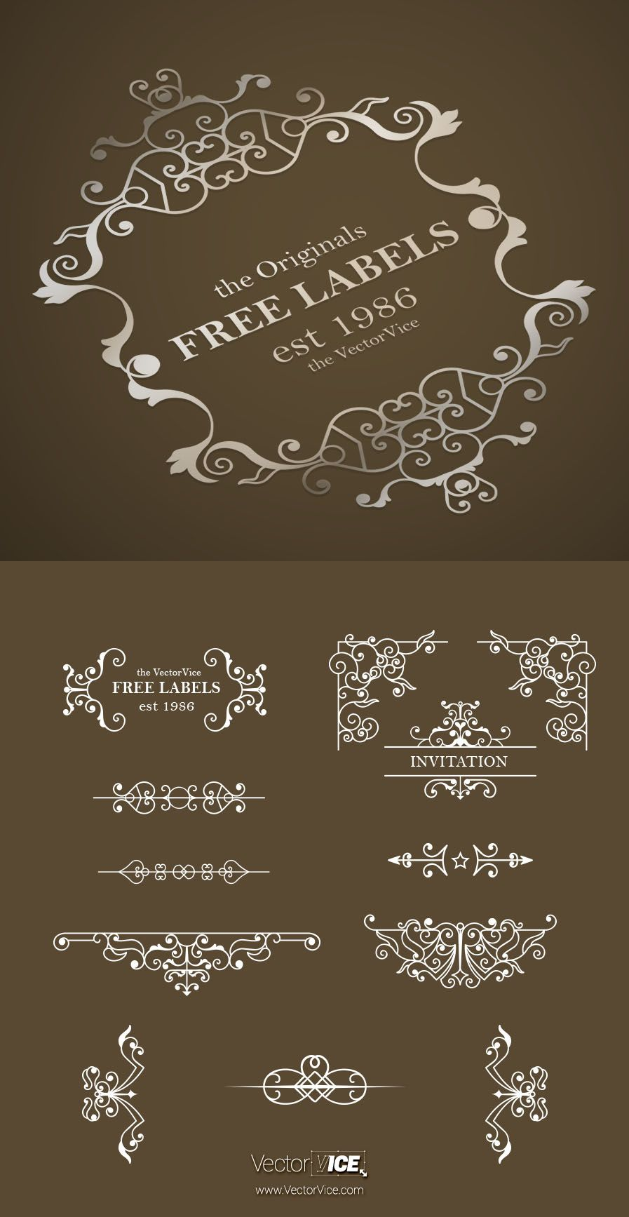 Download free vintage ornaments vintage ornaments and iders - Download Free Vintage Ornaments Vintage Ornaments And Dividers Calligraphic Design Elements And Page Decoration