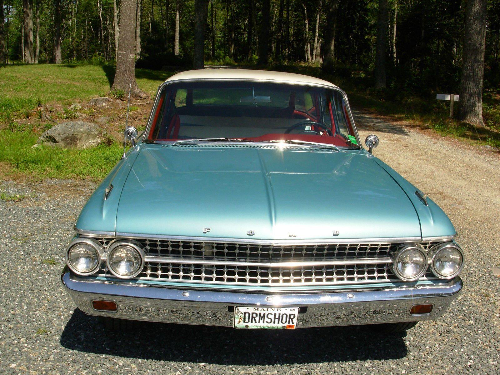 1956 ford customline wagon old car hunt -  61 Ford Country Sedan Station Wagon
