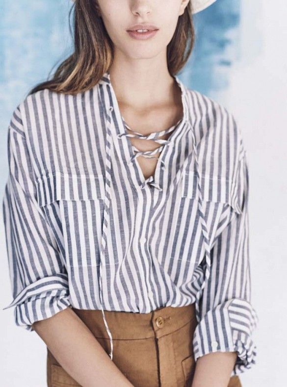 13 Amazing Outfit Ideas From Madewell's Spring Lookbook via @WhoWhatWear