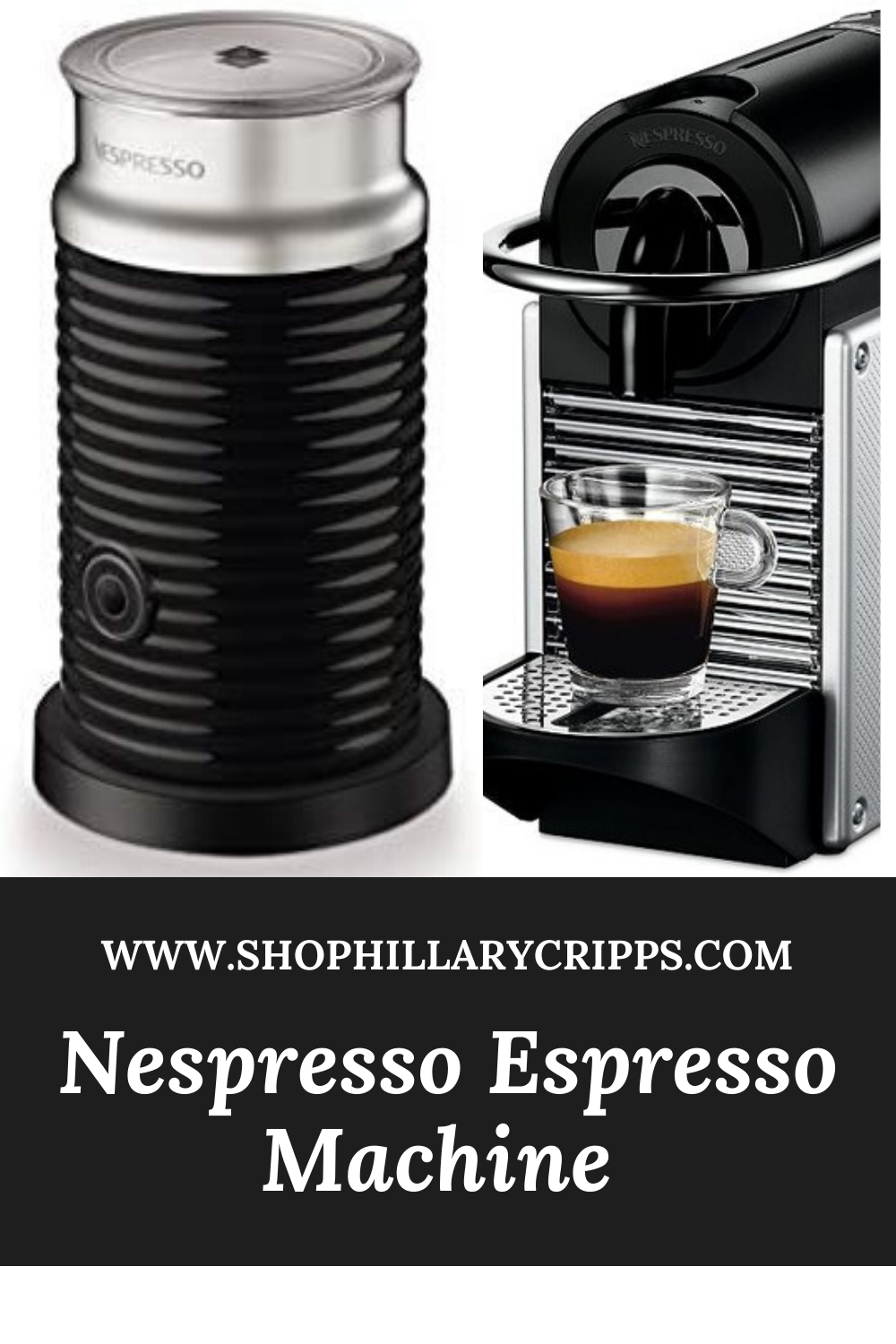 This espresso machine is the best! I use it everyday for