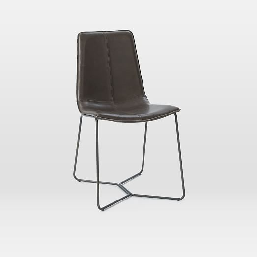 Daniela Chair: Slope Leather Dining Chair In 2019