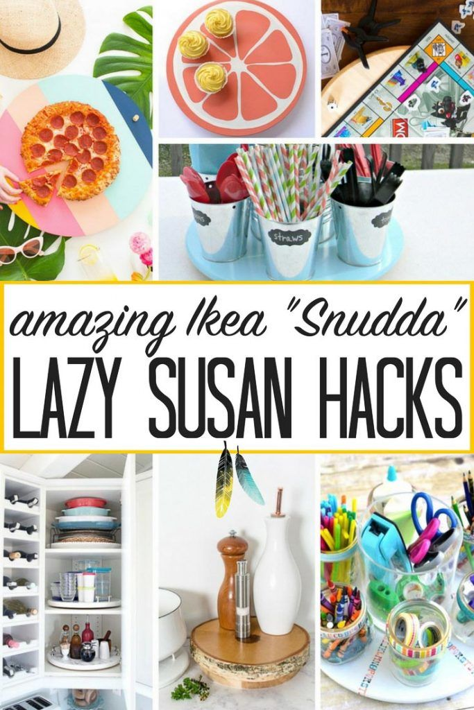 Ikea Lazy Susan Simple Lazy Susan Turntable Hacks  Nest Kitchen Accessories And Ikea Hack Inspiration
