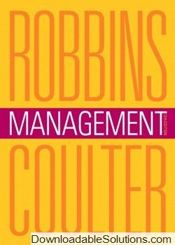 Management By Stephen P Robbins 8th Edition Pdf