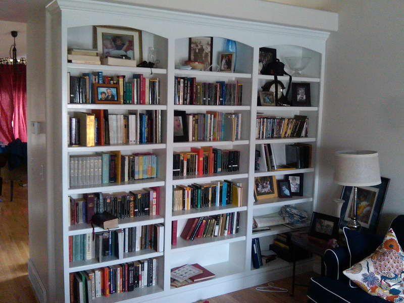 Bookshelf Room Divider Bookshelves And Bookcase Dividers Image On We Heart It