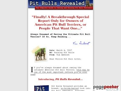 American Pit Bull Terrier Dog Breed Guide - Training Pitbull Puppies - training report