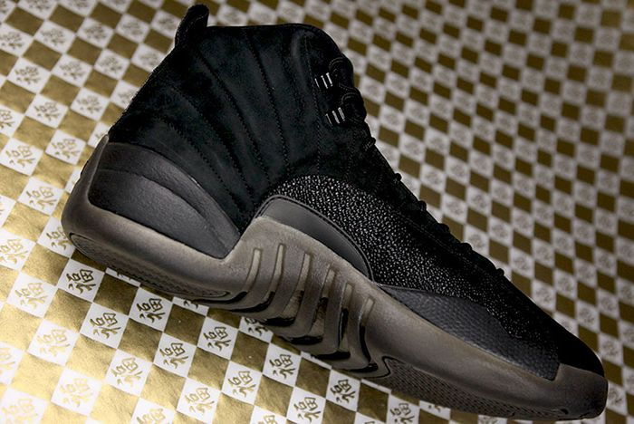 75a6e99167ec DRAKE S AIR JORDAN 12 OVO (BLACK STINGRAY)