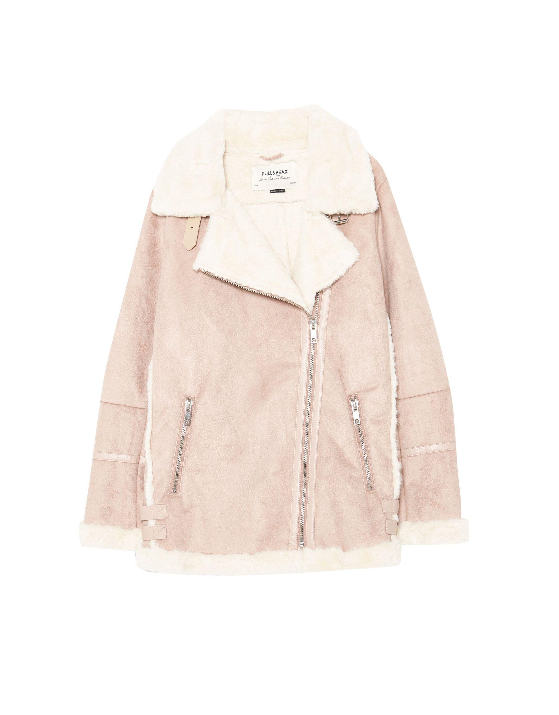 código promocional tienda de liquidación venta barata ee. Consigue este tipo de chaqueta de cuero de Pull & Bear ahora ...